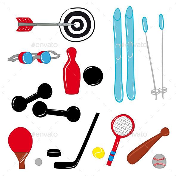 Sport Equipment - Sports/Activity Conceptual