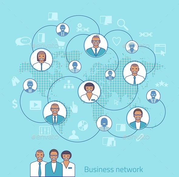 Business Concept Illustration - Vectors