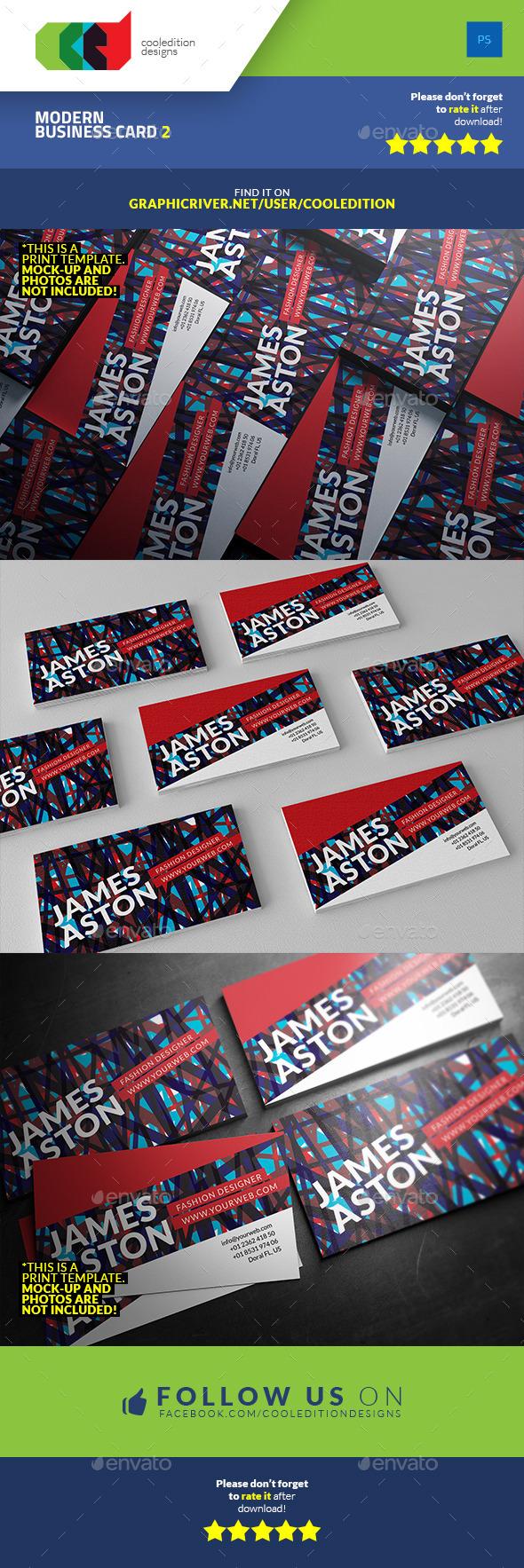 Modern Business Card 2 - Creative Business Cards
