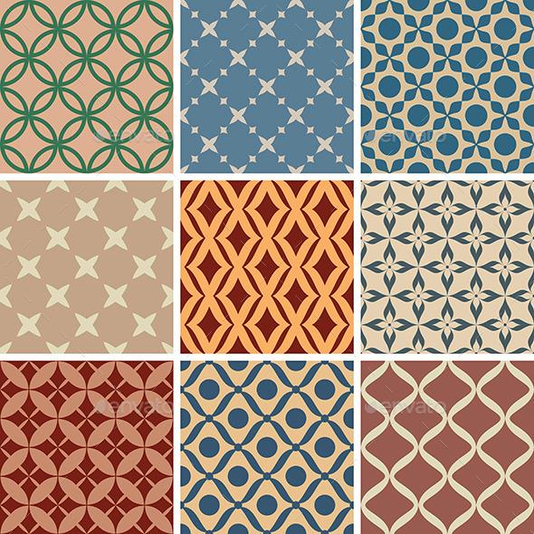 Seamless Patterns - Patterns Decorative