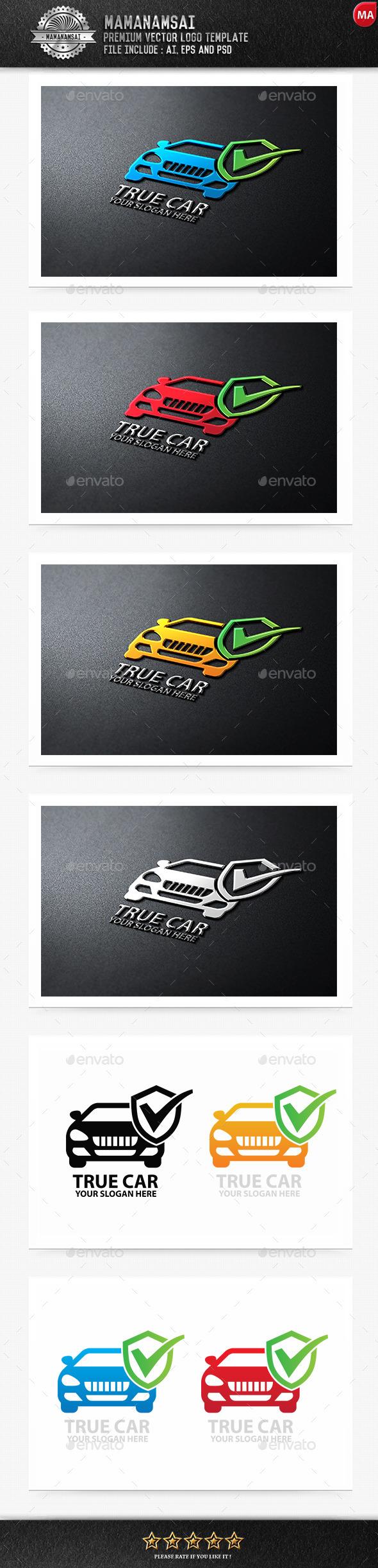 True Car Logo - Logo Templates