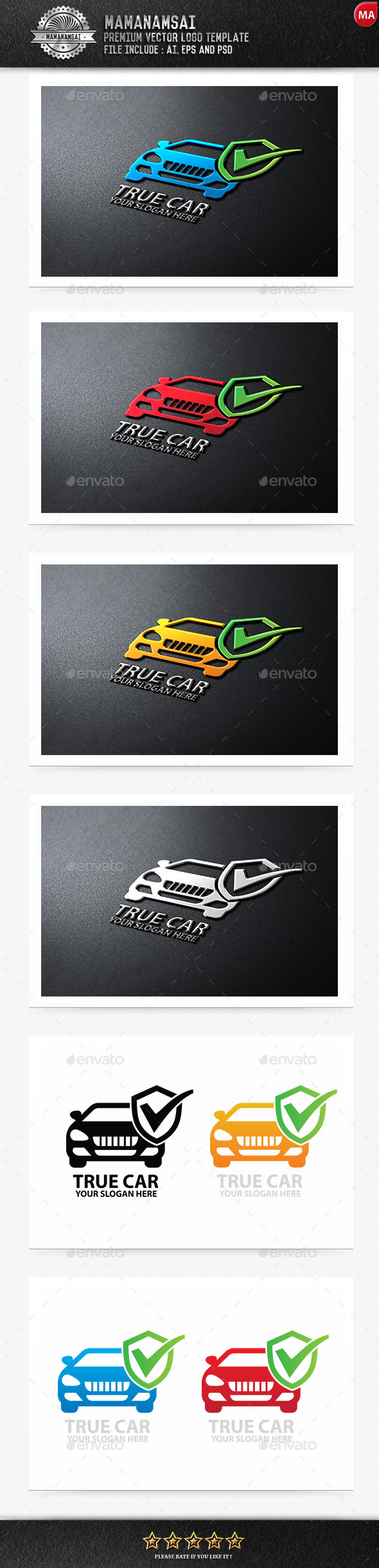 True Car Logo