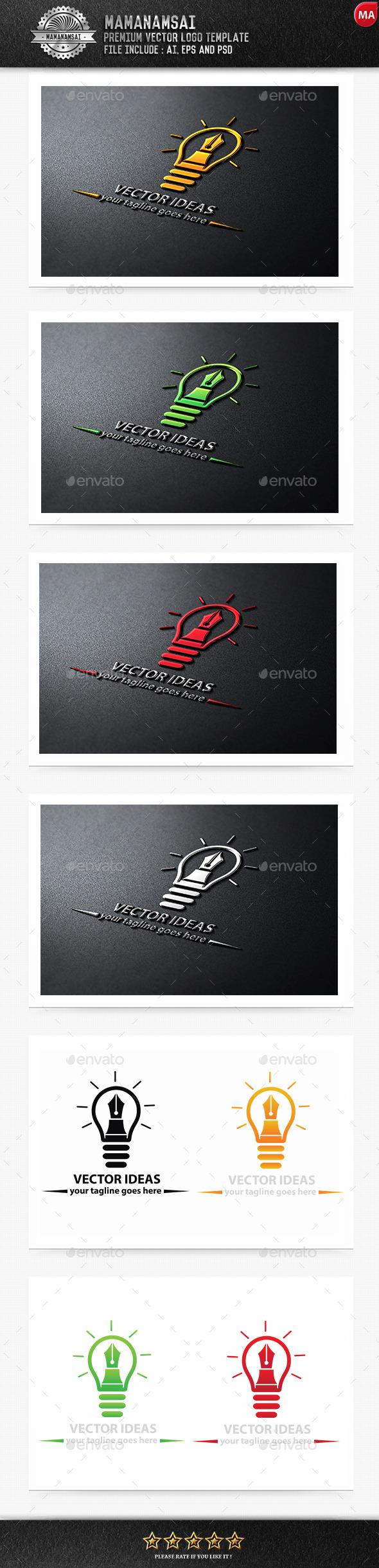 Vector Ideas Logo - Logo Templates