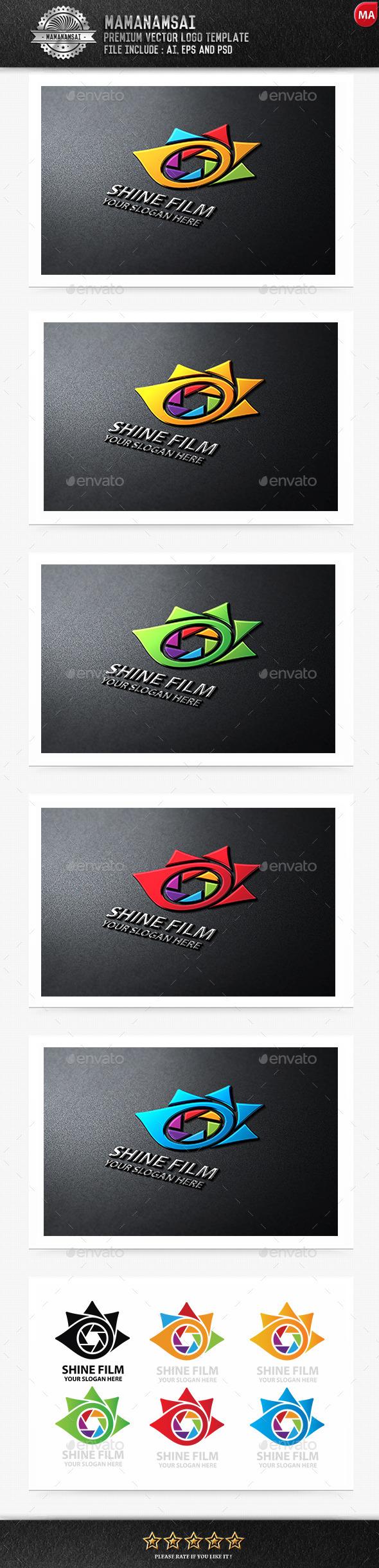 Shine Film Logo - Logo Templates