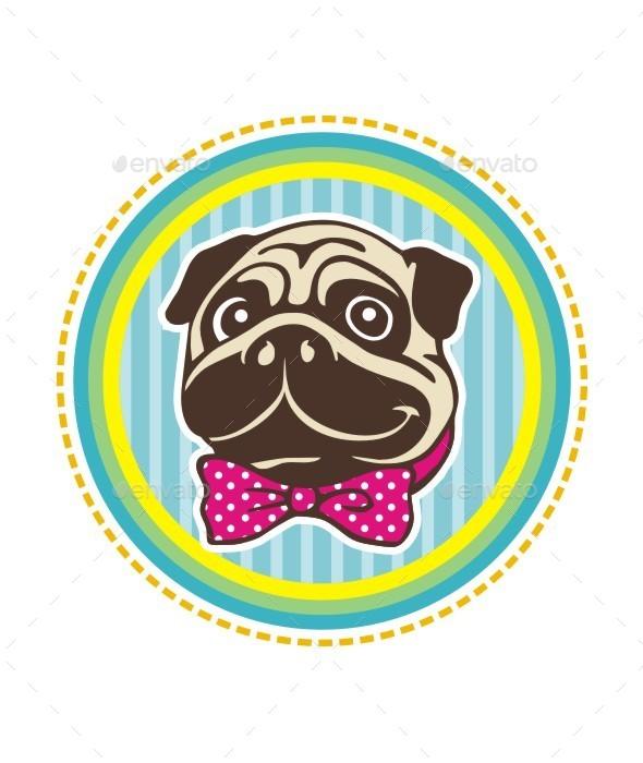 Pug Head - Animals Characters