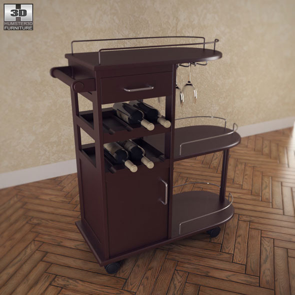 Entertainment Wine Cart - Winsome Trading