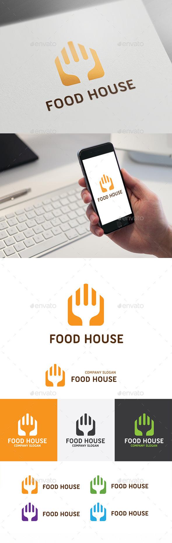 Food House - Food Logo Templates