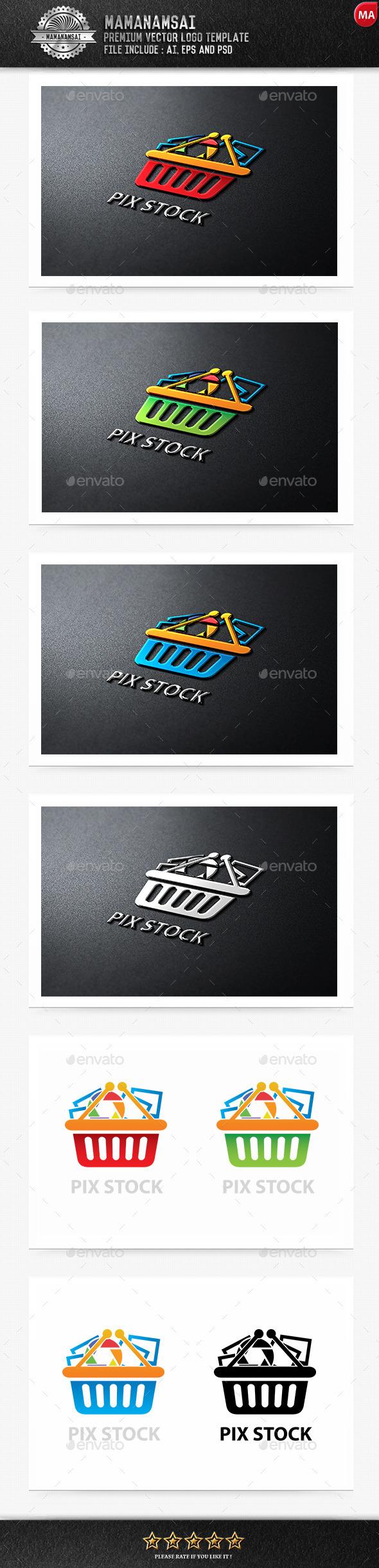 Pix Stock Logo - Logo Templates