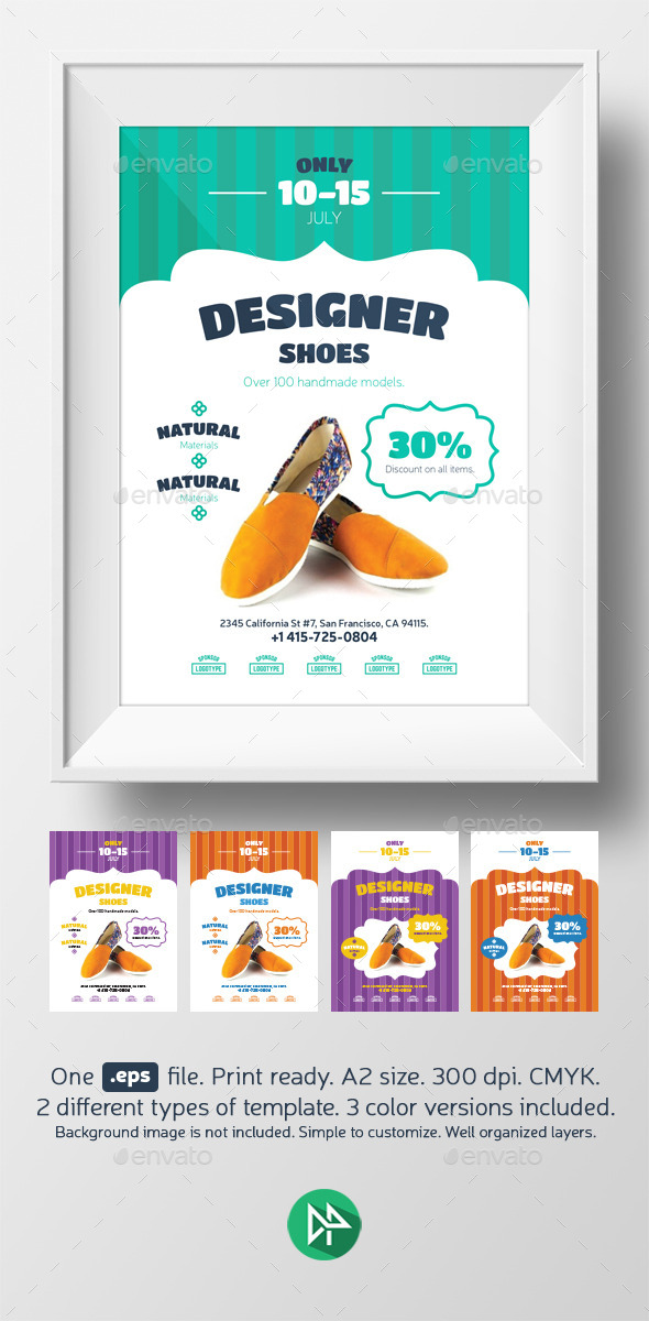 New shoes promo template - Events Flyers