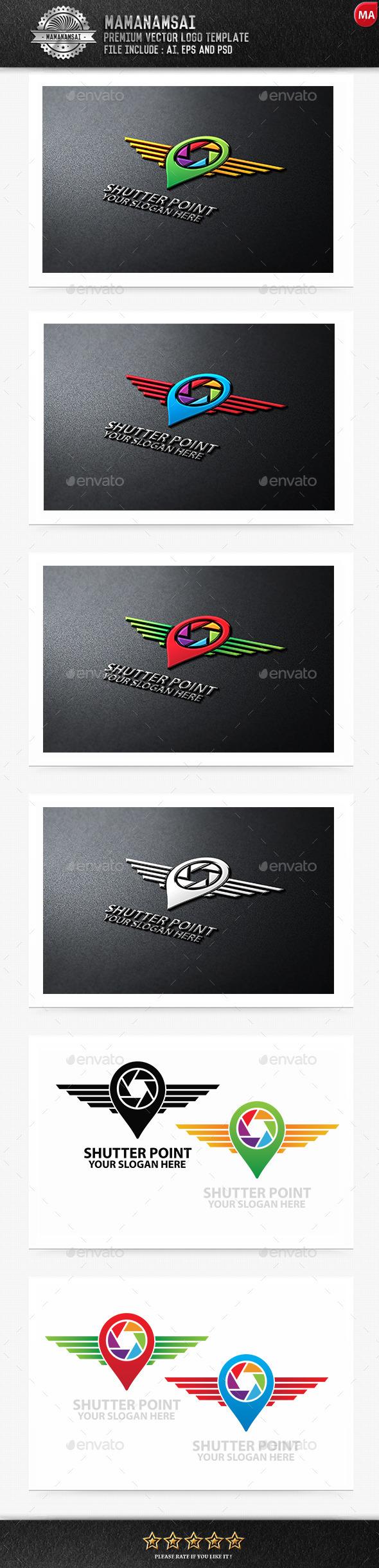 Shutter Point Logo - Logo Templates