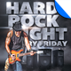 Hard Rock Night Flyer Template