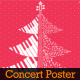 Winter Holiday Concert Flyer & Ticket - GraphicRiver Item for Sale