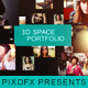 3D Space Portfolio - VideoHive Item for Sale