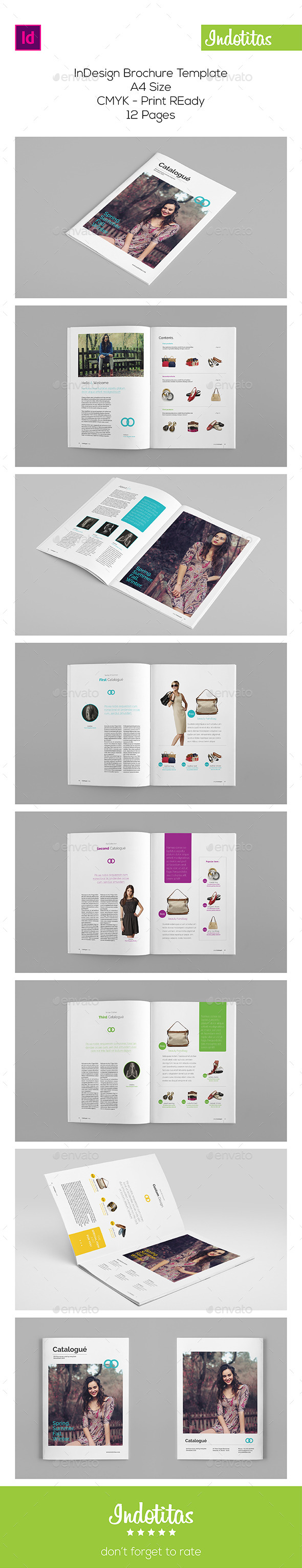 Multipurpose Brochure Catalog Template - Catalogs Brochures