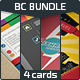 Business Cards Bundle v3.0 - GraphicRiver Item for Sale