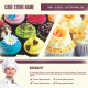 Cake Store Flyer - GraphicRiver Item for Sale