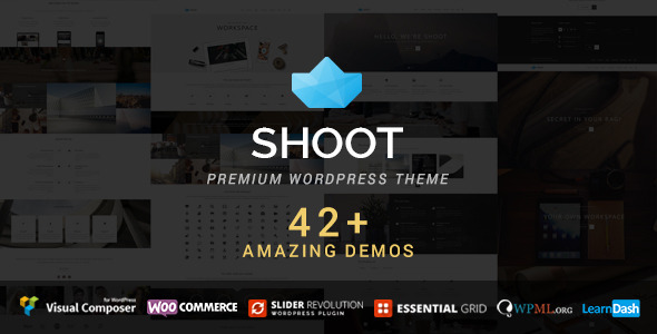 Shoot – Multipurpose & Multi Styled Theme