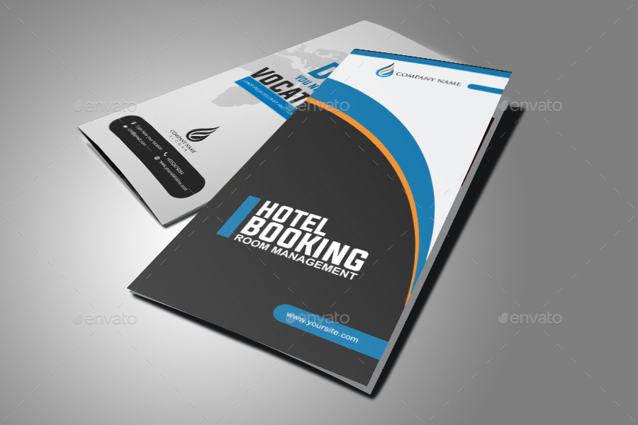 Modern Hotel Tri Fold Brochure Design by graphicsdesignstudio ...