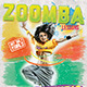 Zoomba or Fitness lessons flyer - GraphicRiver Item for Sale