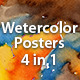 Watercolor Art Flyer/Poster Template - GraphicRiver Item for Sale