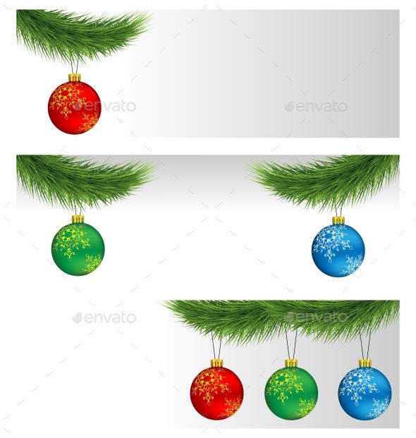 Christmas Balls - Backgrounds Decorative