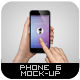 Phone 6 Mock-Up - GraphicRiver Item for Sale