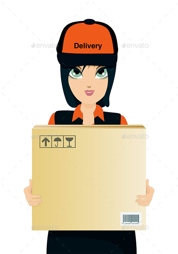 Delivery - People Characters