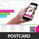 Mobile Apps Promotion Postcard Template - GraphicRiver Item for Sale