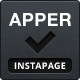 Apper - Instapage App Presentation Template  - ThemeForest Item for Sale