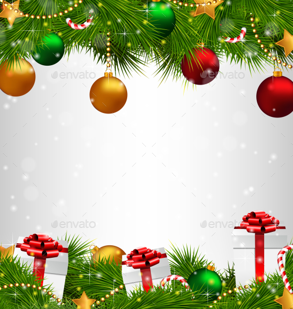 Christmas Tree - Backgrounds Decorative