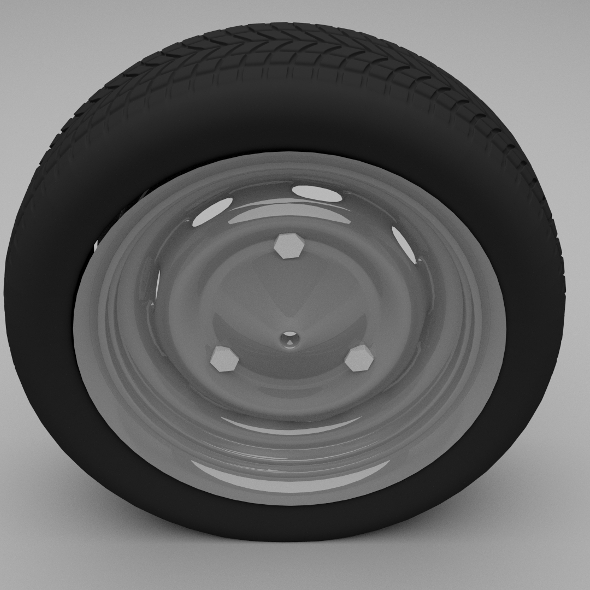 Dacia wheel - 3DOcean Item for Sale