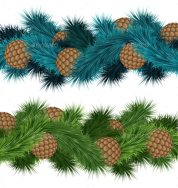 Pine Cones - Backgrounds Decorative