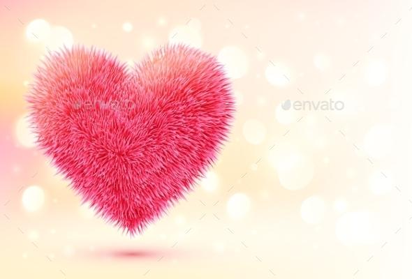 Fluffy Heart - Valentines Seasons/Holidays
