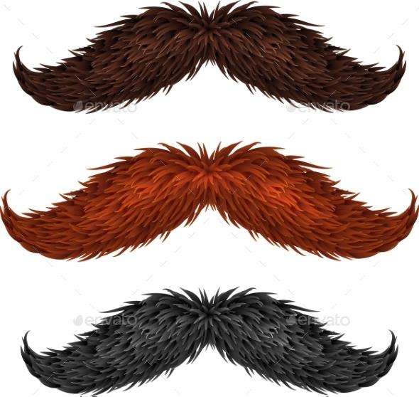 Mustaches - Miscellaneous Vectors
