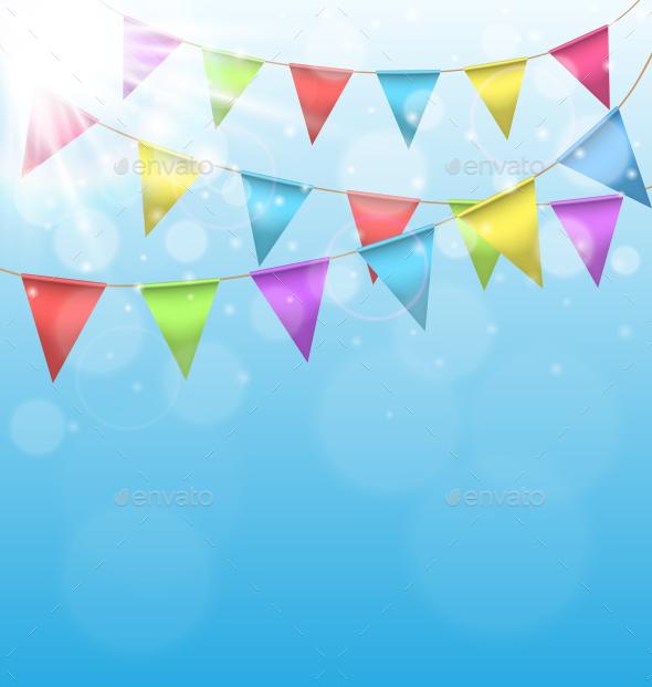 Birthday Background - Backgrounds Decorative