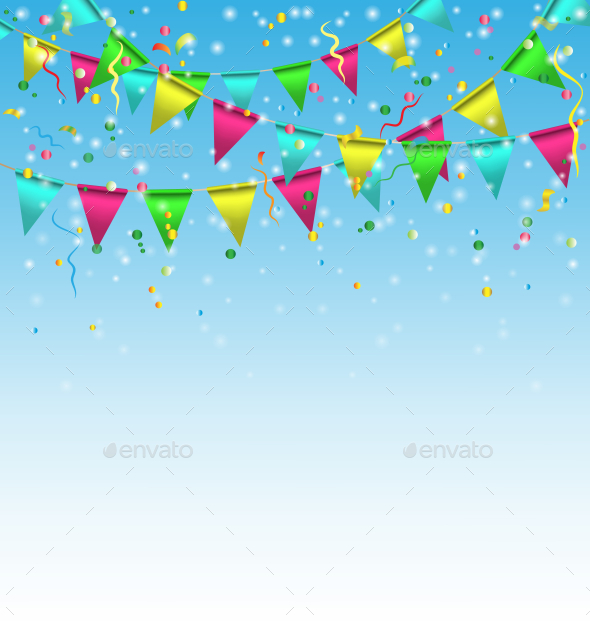 Birthday Background - Backgrounds Decorative