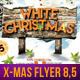 White Christmas Flyer Template (8.5x11) - GraphicRiver Item for Sale