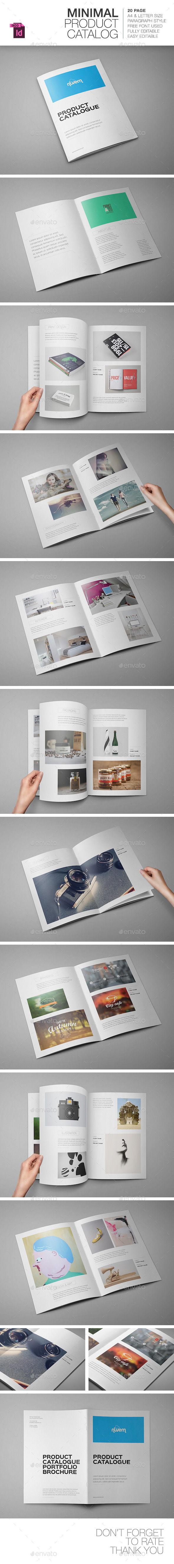 Product Catalogue / Portfolio Brochure - Brochures Print Templates