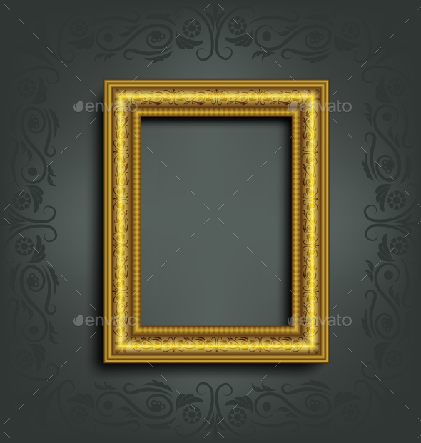 Ornamented Frame - Backgrounds Decorative