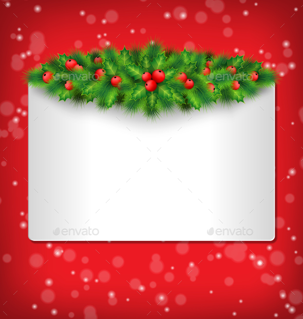 Christmas Frame - Backgrounds Decorative