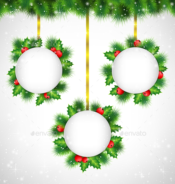 Christmas Banners - Backgrounds Decorative