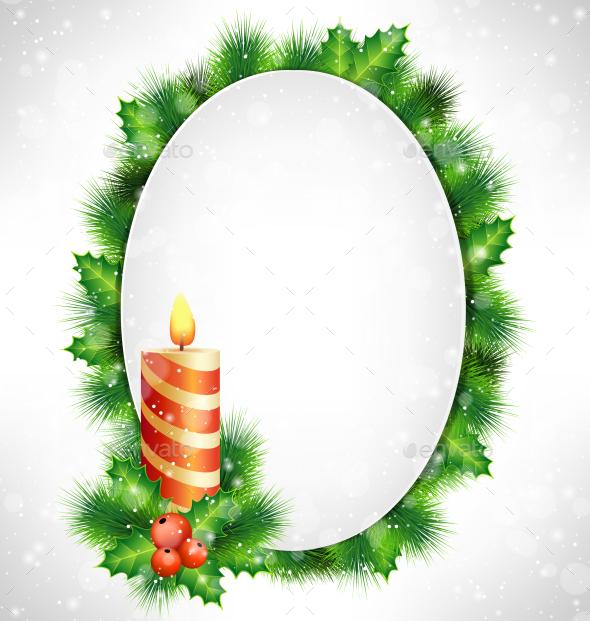 Christmas Frame - Backgrounds Decorative
