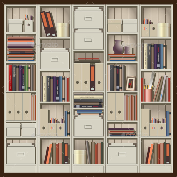 Shelving - Objects Vectors