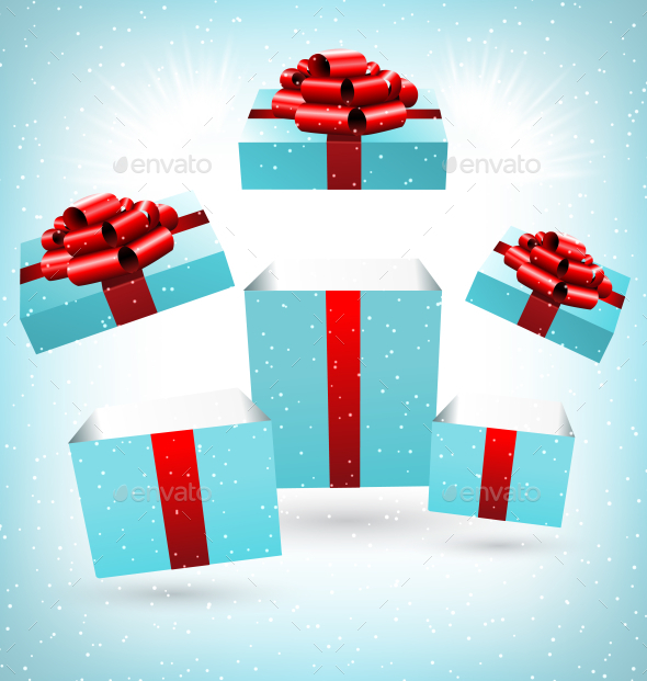 Gift Boxes - Backgrounds Decorative