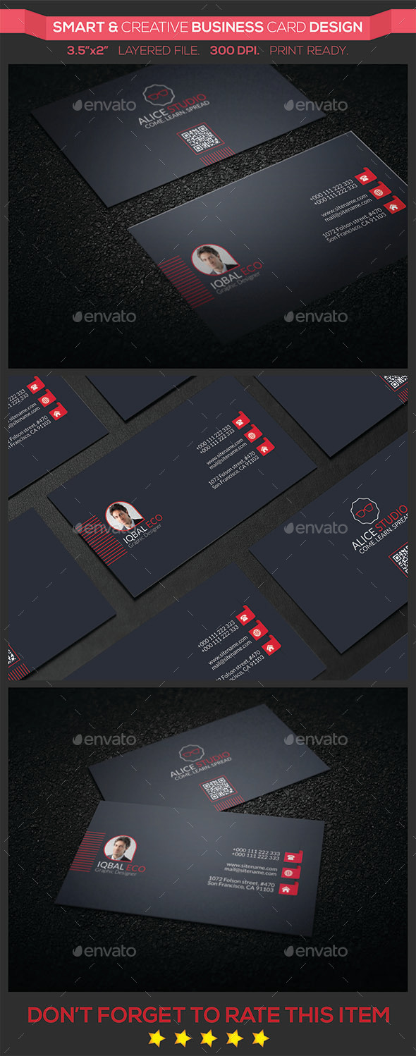 Smart & Creative Business Card Design - Creative Business Cards