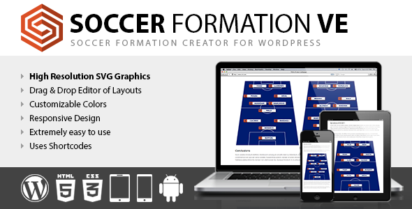 Soccer Formation VE - CodeCanyon Item for Sale