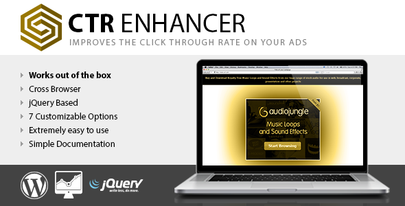 CTR Enhancer WP - Tool for advertising publishers - CodeCanyon Item for Sale