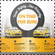 Taxi Transport Service Flyer or Poster - GraphicRiver Item for Sale