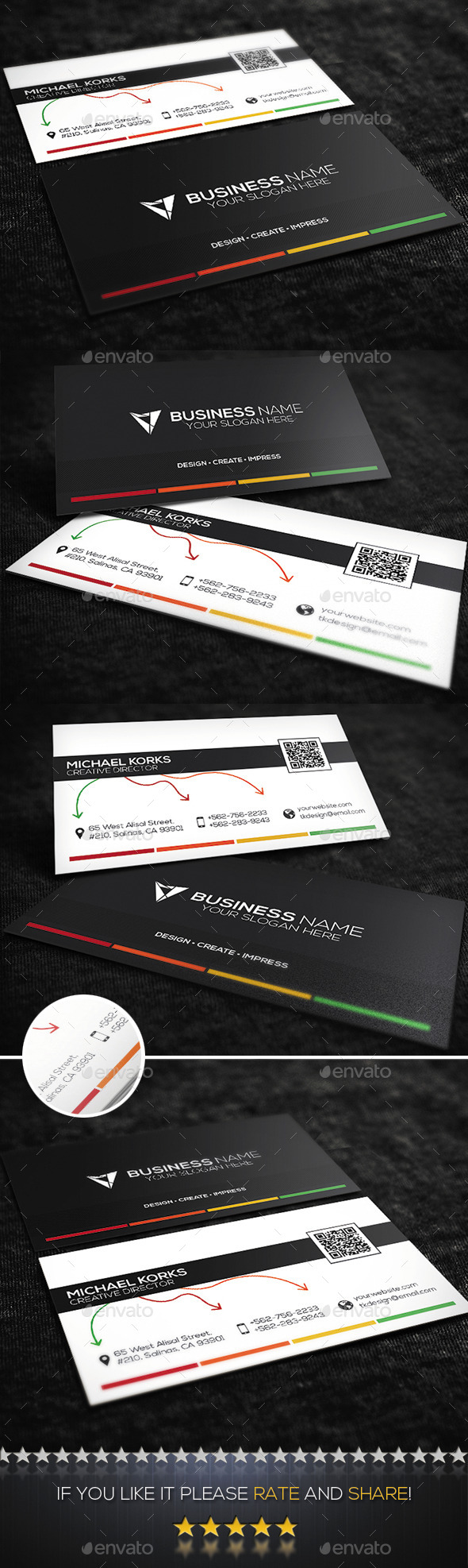 Creative Business Card No.08 - Creative Business Cards