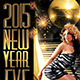 2015 New Year Eve Flyer Template - GraphicRiver Item for Sale